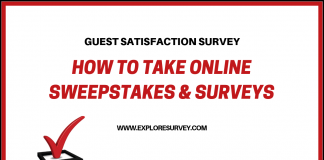 Online Sweepstakes Survey