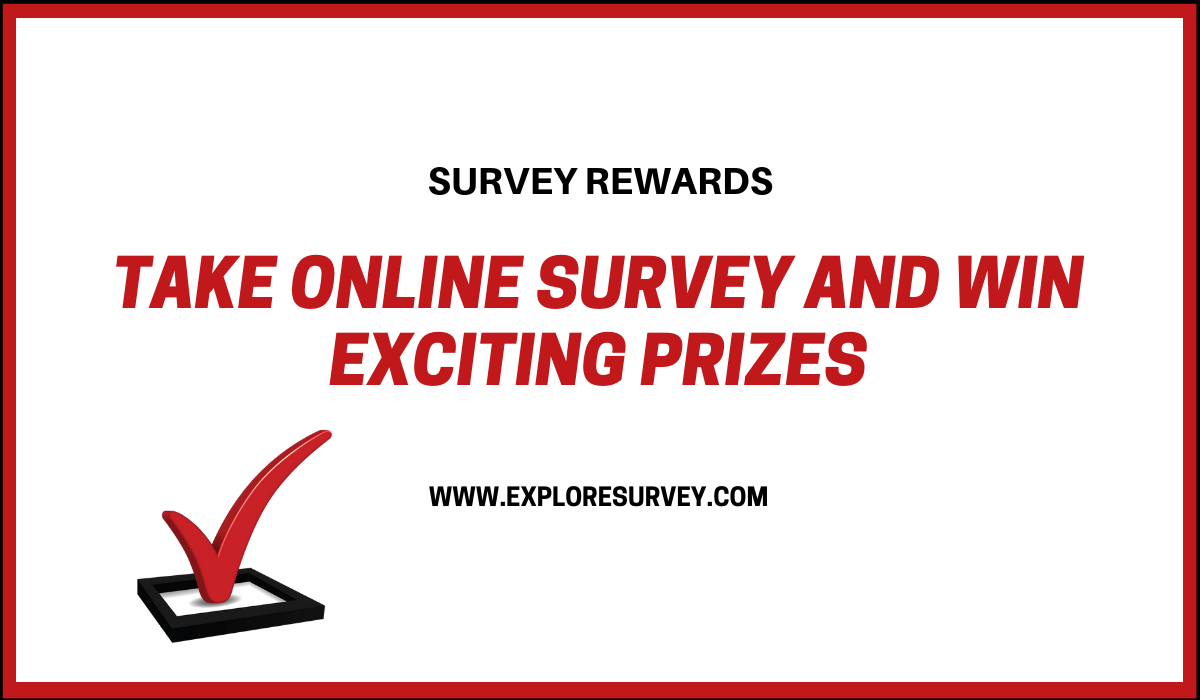Reward for survey