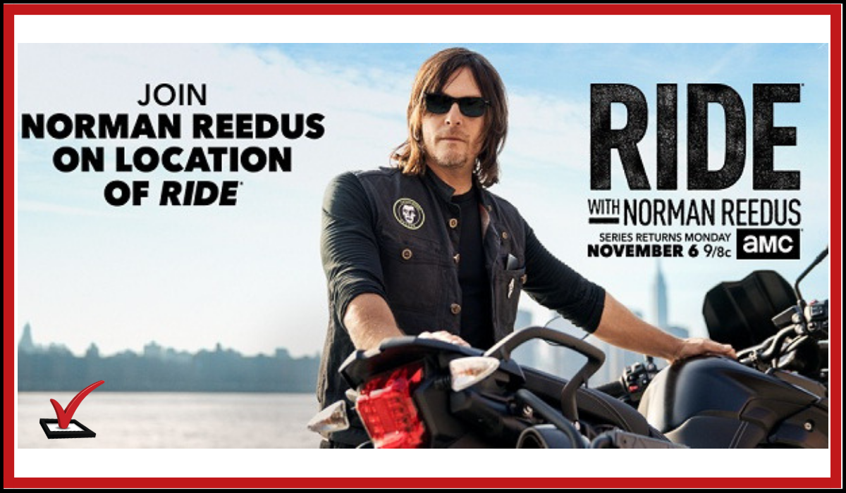 Norman Reedus Trip Sweepstakes