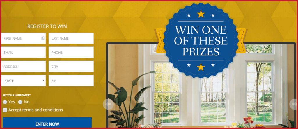 Khwindows.com Home Makeover Sweepstakes 2019
