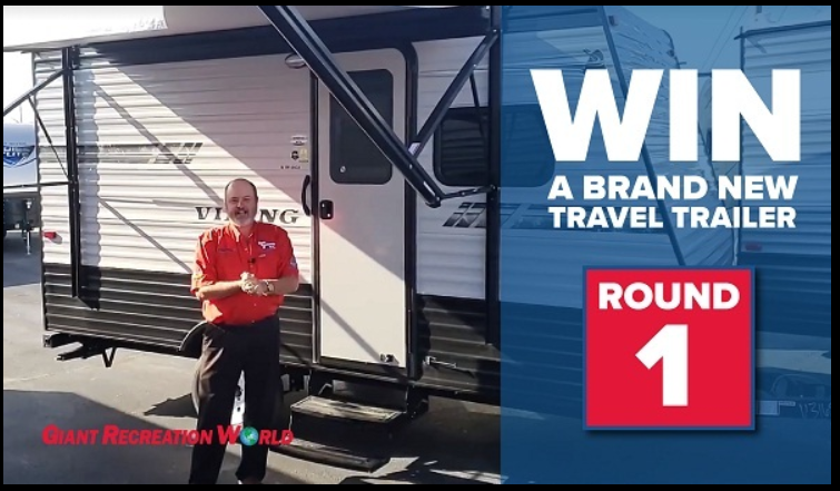 Giantrecreationworld.com Travel Trailer Giveaway