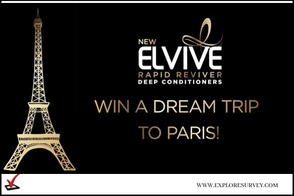 L'Oreal Paris Elvive StopWaiting Sweepstakes Win Trip