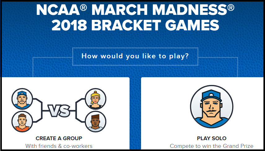 NCAA Sports Bracket Challenge Sweepstakes