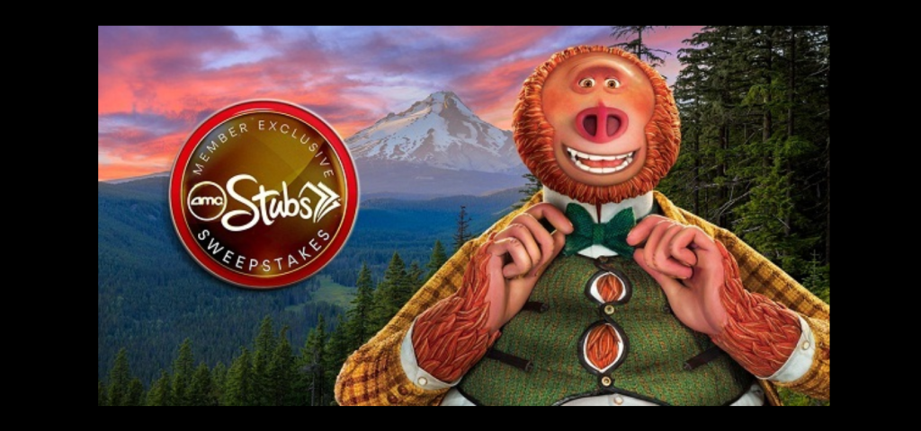 AMCTheatres.com Missing Link Sweepstakes