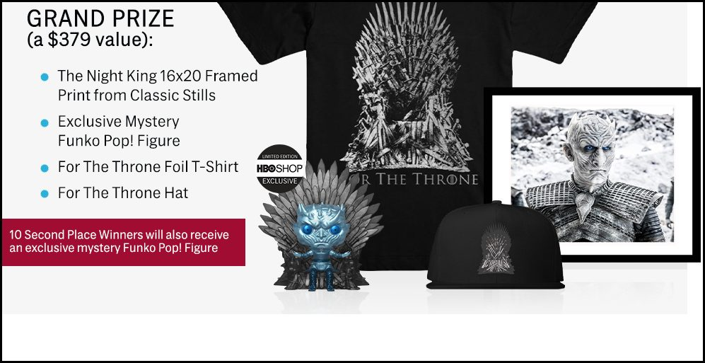 Game of Thrones Grand Prize