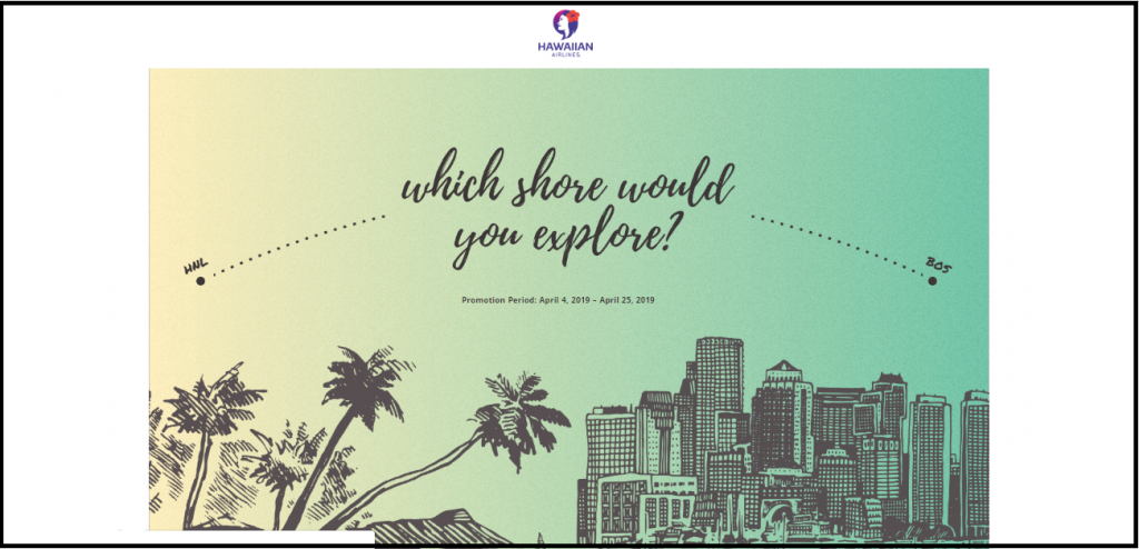 HawaiianAirlines.com Which Shore Would You Explore Sweepstakes