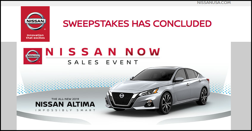 Nissan Sales Event