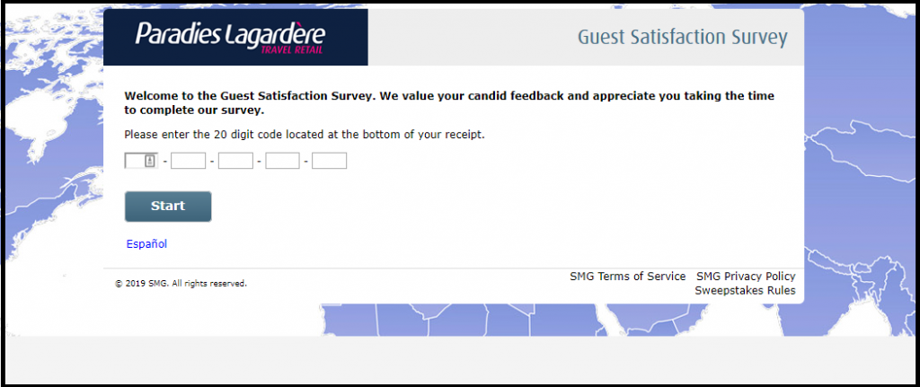 Paradies Lagardere Survey Win Gift Card