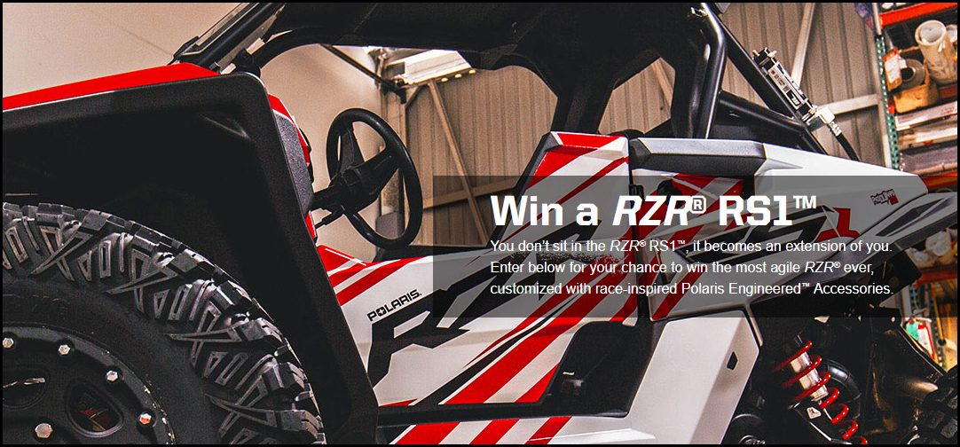 RZR RS1 Home page