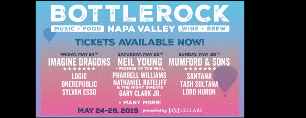 SiriusXM.com BottleRock 2019 Napa Valley Sweepstakes