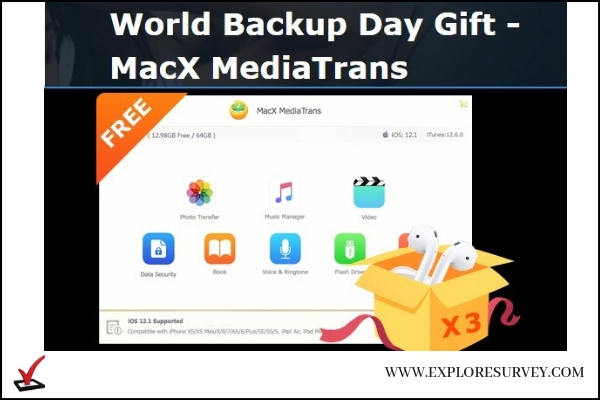 Win a Pair of AirPods from MacX MediaTrans Sweepstakes