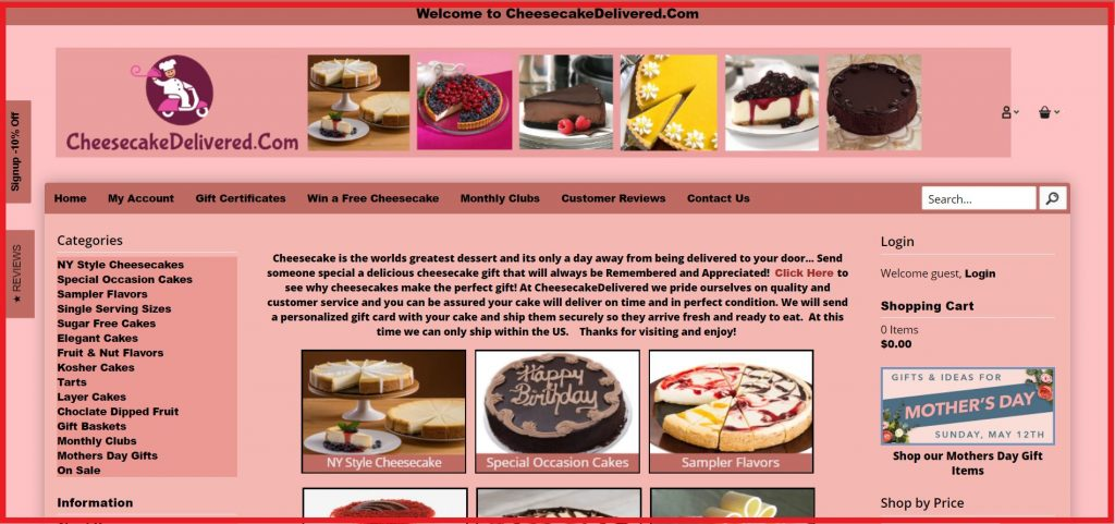 cheesecake entry guide