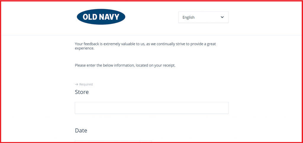 old navy entry guide