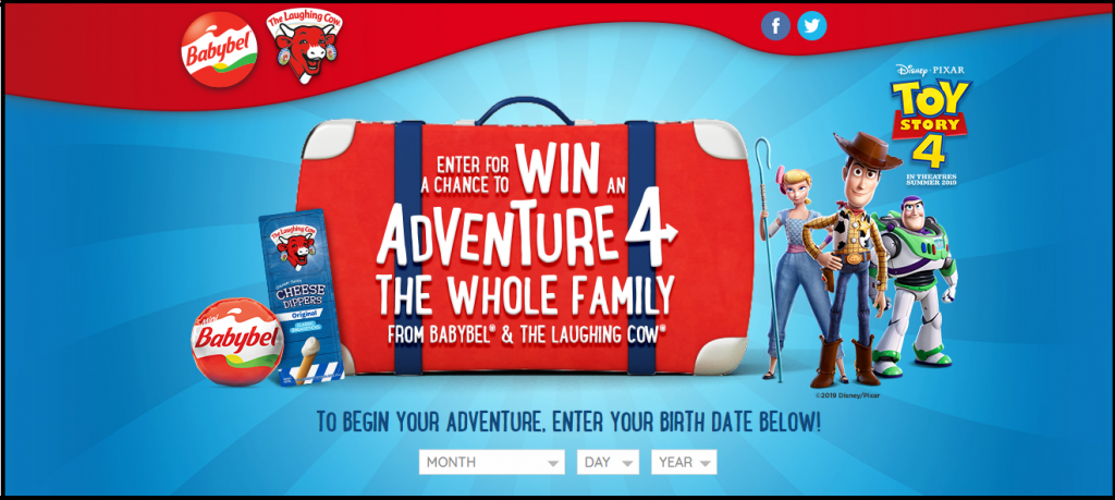 Adventure 4 the Whole Family Sweepstakes
