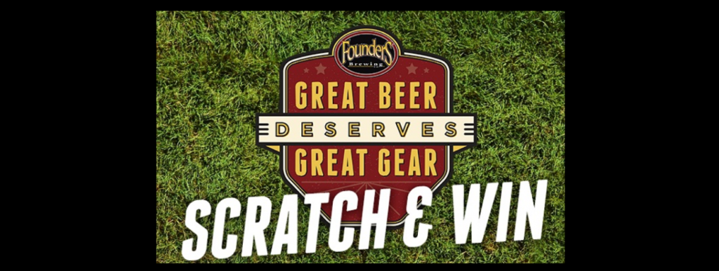 Founders Great Beer Scratch and Win Instant Win Game