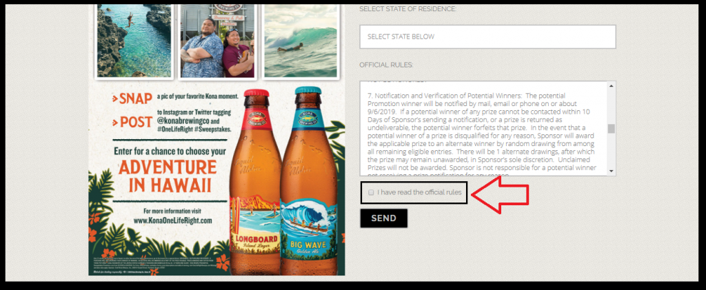 Kona Live The Label Sweepstakes: Win Trip
