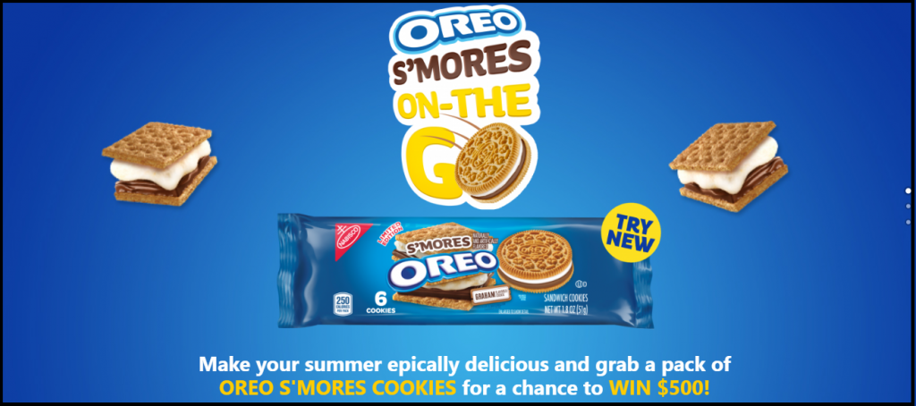 American Express Gift Card On Oreosweepstakes.com