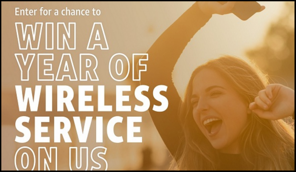 Win AT&T Wireless Service for a Year!