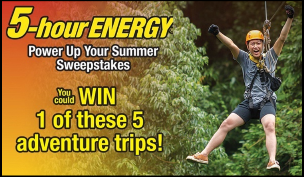 Power Up Your Summer Sweepstakes on 5hewin.com