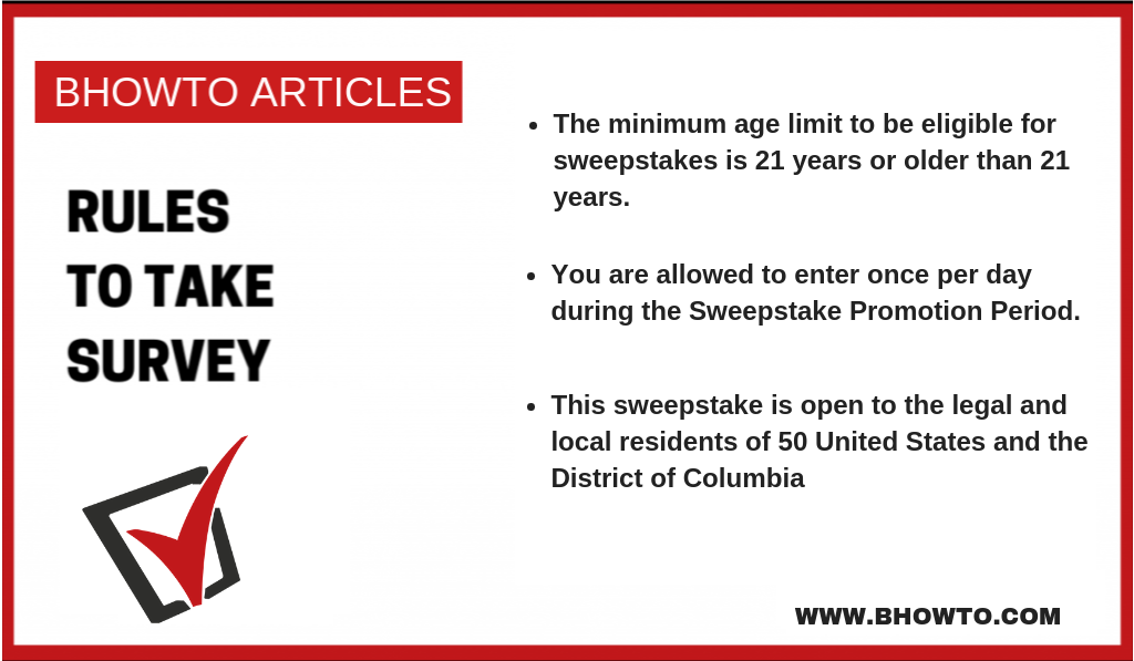 This sweepstake is open to the legal and local residents of 50 United States and the District of Columbia