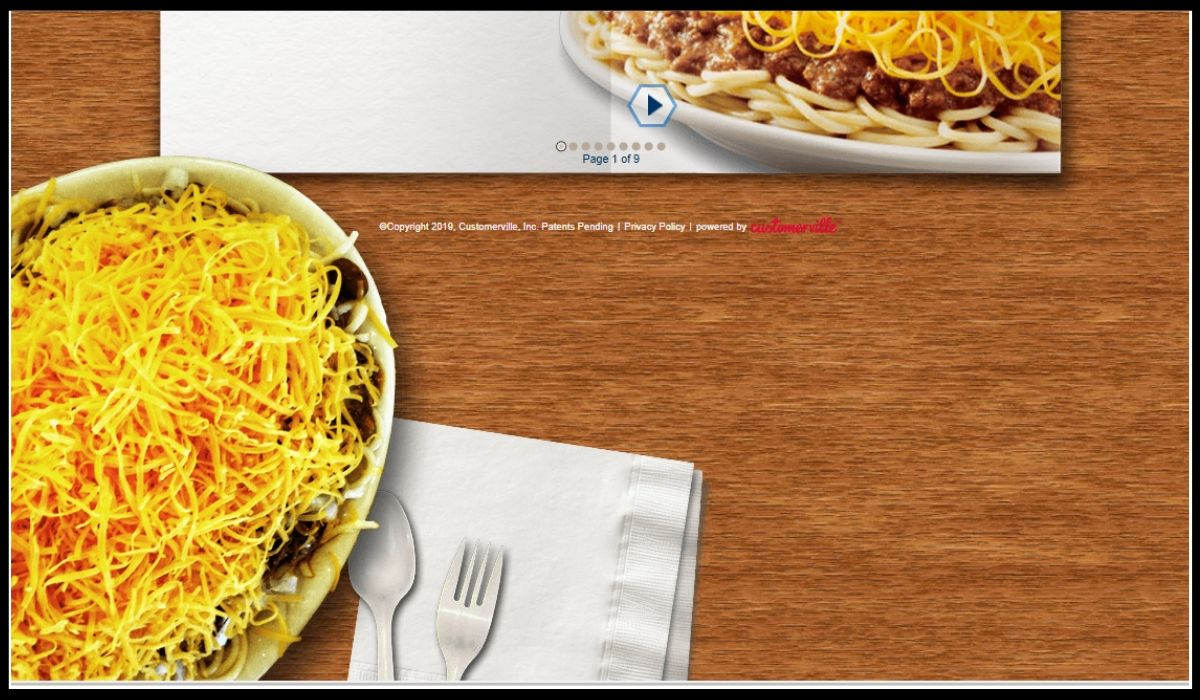 Skyline Chili Survey Win Gift Card