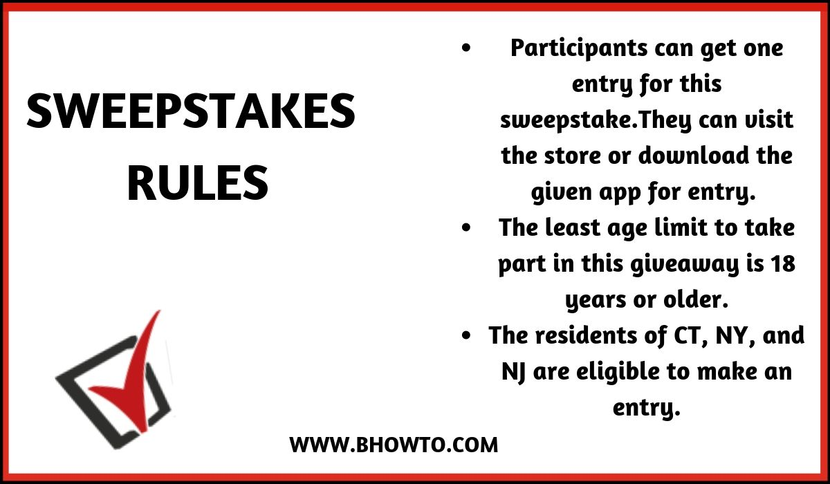 30k Giveaway rules and regulations