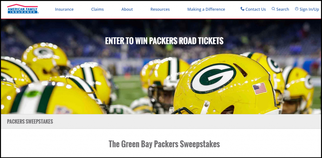 American Family Insurance Green Bay Packers