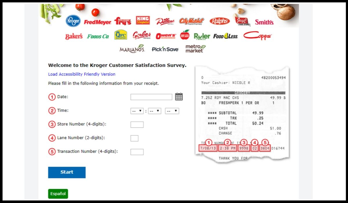 Copps Survey Sweepstakes entry