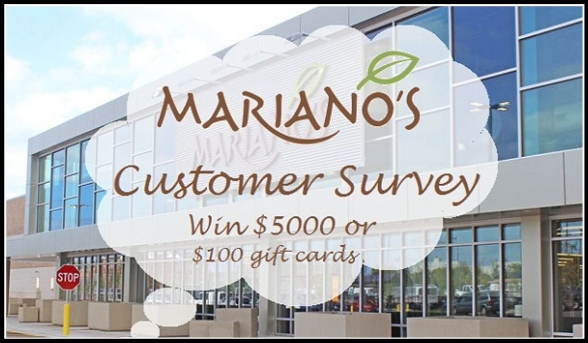 Online entry for Mariano's Survey