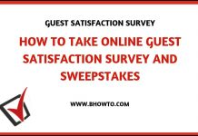 Burlington Feedback Survey Sweepstakes
