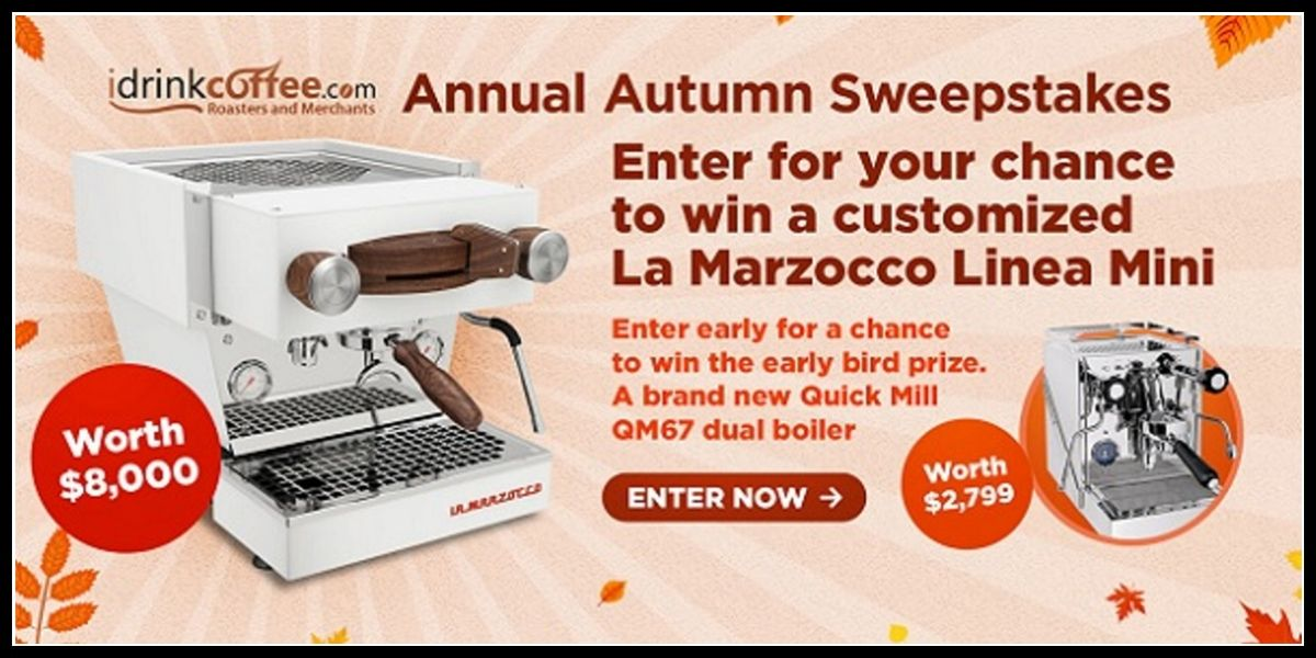 Online entry for Autumn Sweepstakes