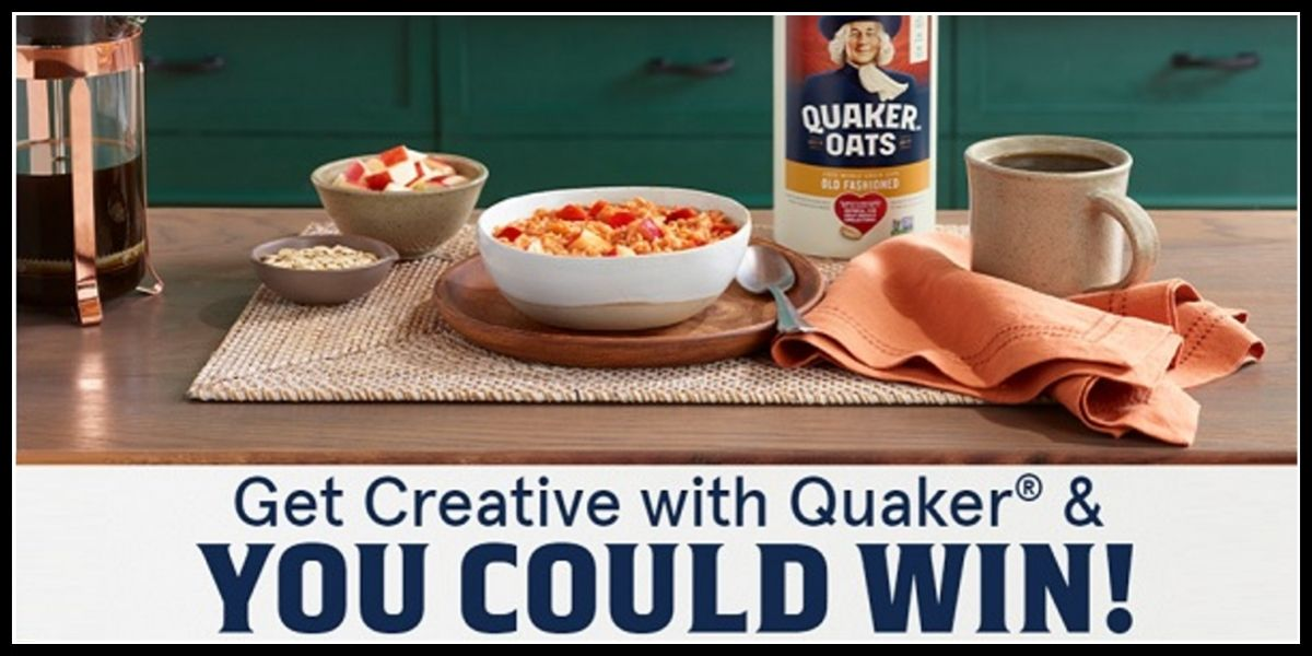Quaker Oats Recipe survey entry