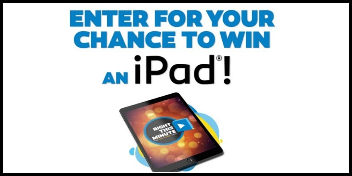 iPad Sweepstakes entry