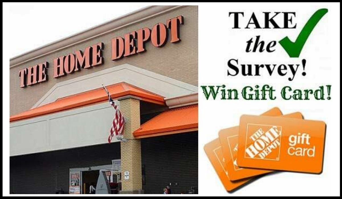 Entry forHome Depot Opinion Survey Sweepstakes
