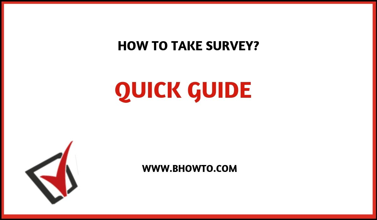 Opinion Survey Sweepstakes quick guide