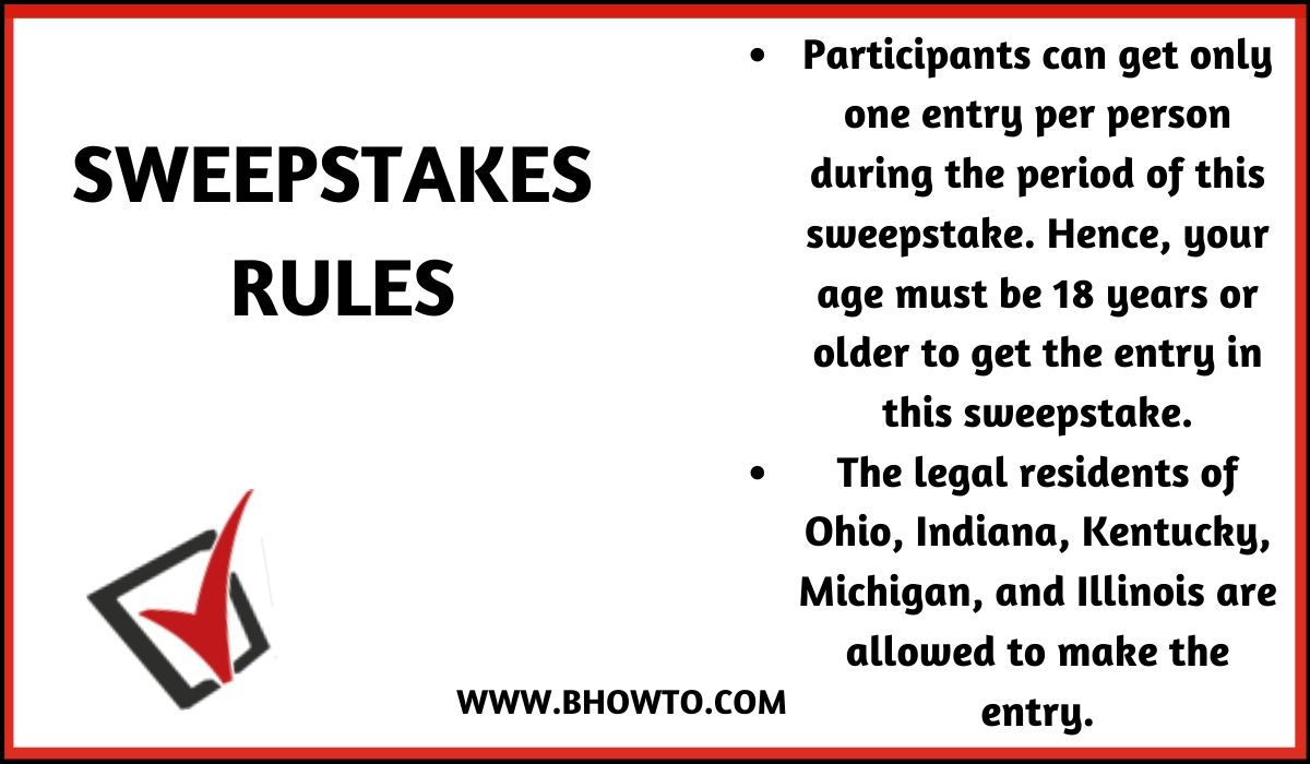 Rules for Blackburn and Green Harley Motorcycle Giveaway 2020