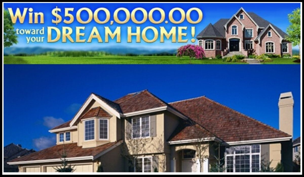 Online entry for Pch.com $500,000 Dream Home Sweepstakes