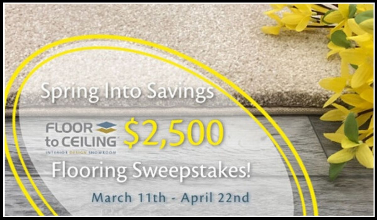 Get the entry to win Savings Sweepstakes