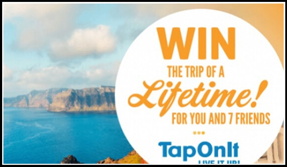 Win a trip to Greece entry