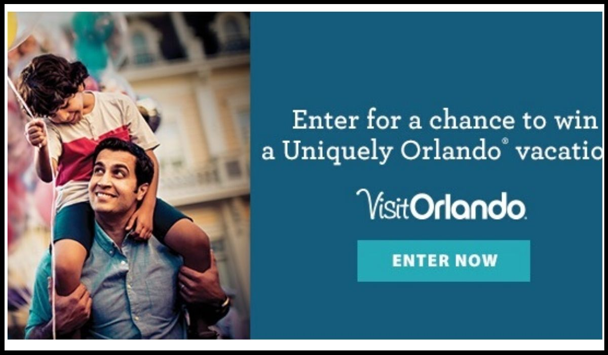 Entry for Uniquely Orlando Sweepstakes 2020 Win A Family Vacation