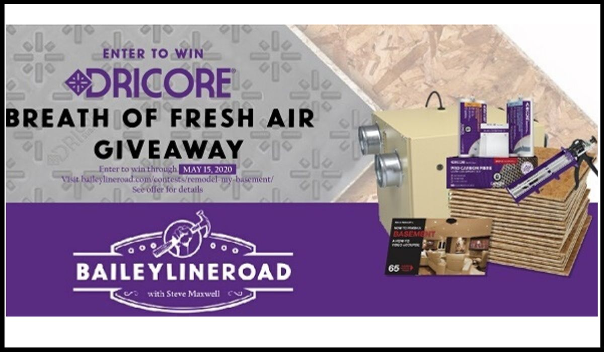 Dricore Sweepstakes entry